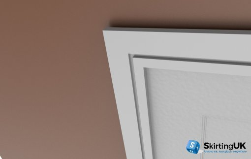 Grooved Square Architrave Sets