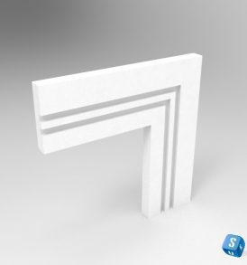 Grooved Square II Arc