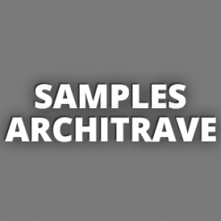 Samples Architrave