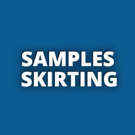 Samples Skirting