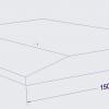 Chamfer Edge dimensions3