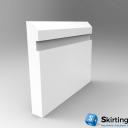 Edge 10mm Wide Groove Skirting Board