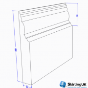 ANTIQUE II SKIRTING BOARD DIMENSIONS
