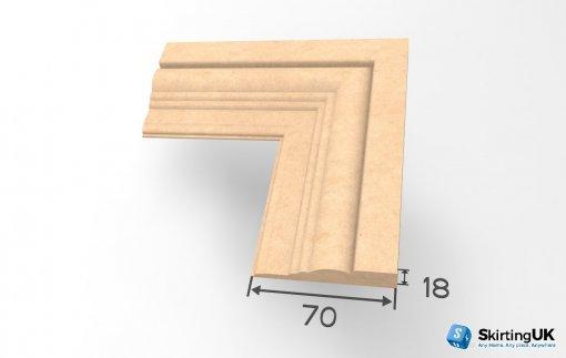 Antique Architrave Dimensions