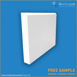 Edge 5mm Skirting Board Free Sample
