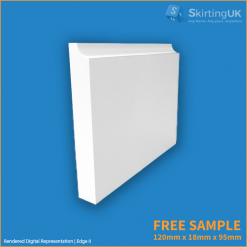 Edge 2 Skirting Board Sample