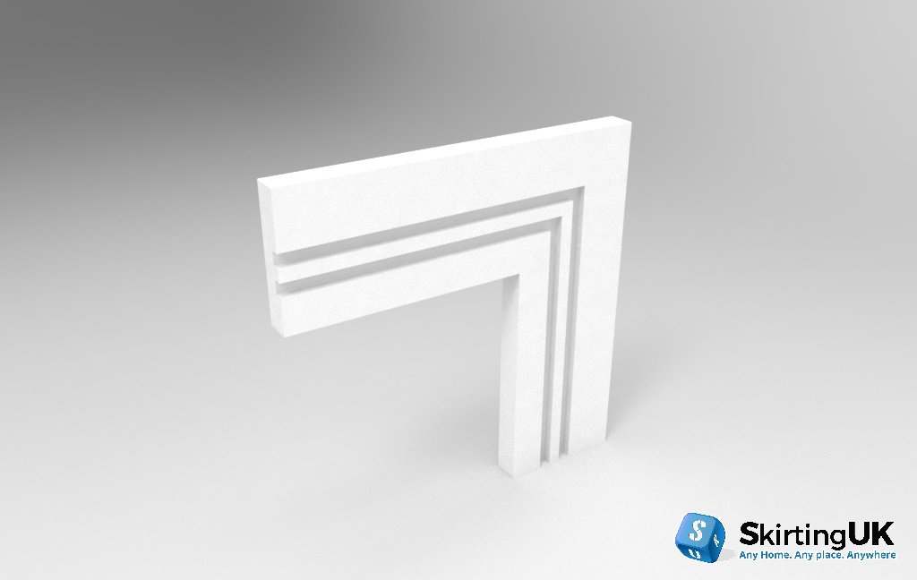 Grooved Square II Architrave