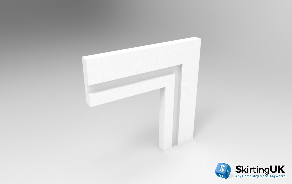 Grooved Square Wide Groove Architrave