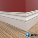 Ogee II Skirting Board Scene