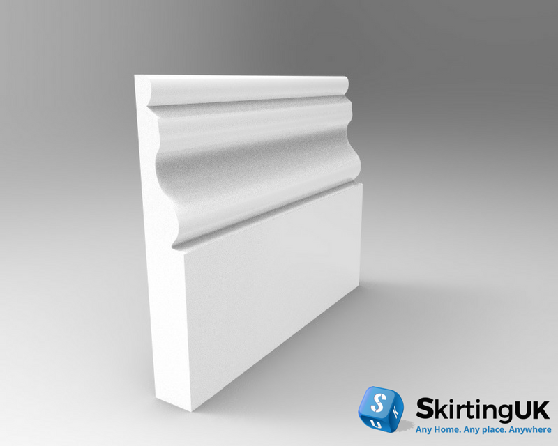 Ogee II Skirting Board