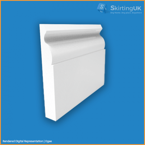Ogee Skirting Board