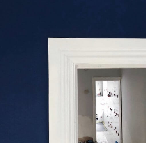 Profile 4 Architrave Blue Wall