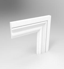 Profile II Architrave Primed