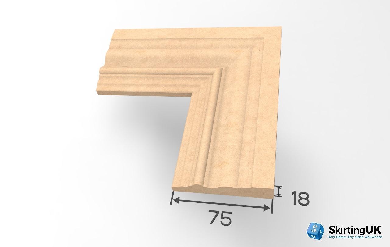 Profile IV Architrave Dimensions