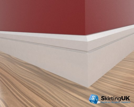Edge 10mm Grooved I Skirting Board Scene