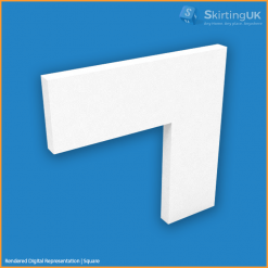 Square edge architrave