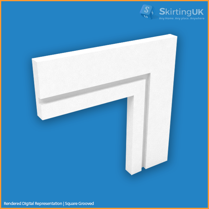 Square-Grooved architrave