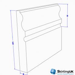 Tudor Skirting Board Dimensions