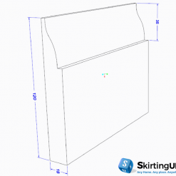 Tulip Skirting Board Dimensions