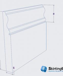 Profile II Skirting Board Dimensions
