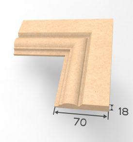 Profile I Architrave Dimensions