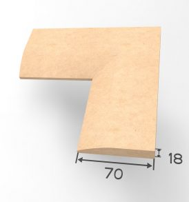Rounded Architrave Dimensions