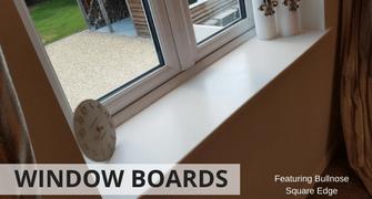 window board banner